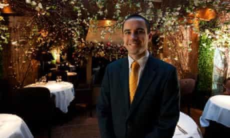 Daniel Kapp, Maitre D' at Clos Maggiore