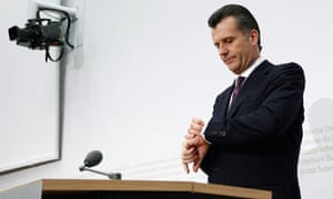 President of the Swiss National Bank, Philipp Hildebrand, is stepping down