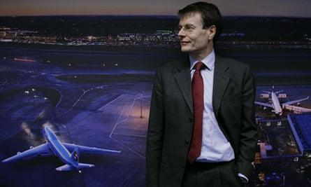 Colin Matthews, chief executive of Heathrow.