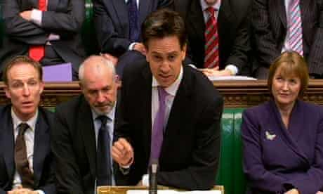 Ed Miliband in the Commons