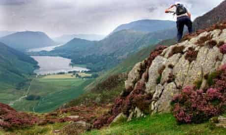 Buttermere and Crummock Water in the Lake District