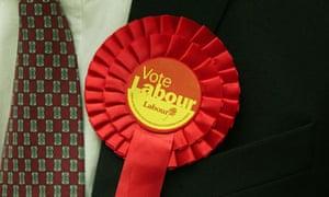 labour party rosette