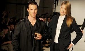 e3bebe60e5644 Sherlock star on the catwalk as first British menswear fashion week ...