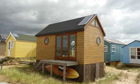beach hut worth 170,000