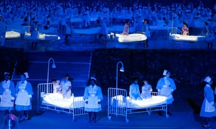 The 2012 London Olympic Games, Opening Ceremony Dress Rehearsal, Britain - 23 Jul 2012