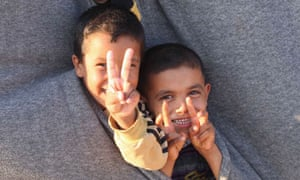 Young Syrian refugees in Jordan
