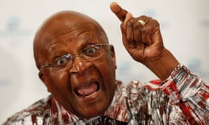 ArchbishopDesmond Tutu in Cape Town, South Africa