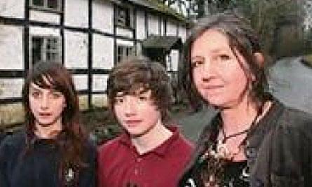 Irene Gardiner and her children