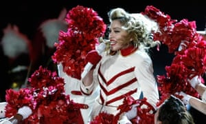 Madonna performs at the Olympic Stadium in Kiev