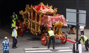 The Lord Mayor's state coach