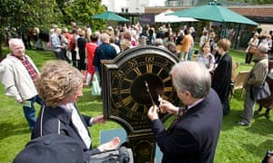 The filming of BBC television programme The Antiques Roadshow