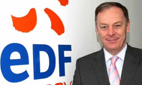 Vincent de Rivaz, CEO of EDF