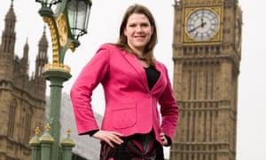 Jo Swinson MP in Westminster, London