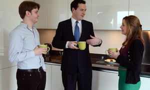 George Osborne Makes A Post Budget Visit In London