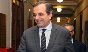 Greece Antonis Samaras