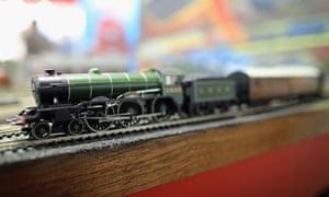 Hornby model railway kit Toy Fair 2013