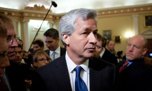 Jamie Dimon, chairman, president and chief executive officer of JP Morgan Chase
