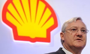 Peter Voser, Chief Executive of Royal Dutch Shell