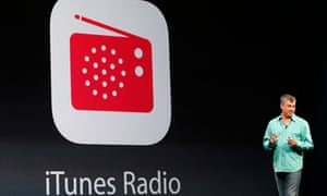 Eddy Cue introduces iTunes Radio at Apple Worldwide Developers Conference 2013 in San Francisco