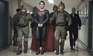 "Henry Cavill as Superman in ""Man of Steel."