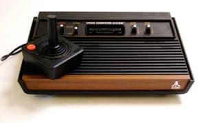 An Atari game system