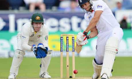 cricketer's eye on the ball
