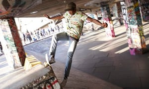 Southbank skatepark or 'undercroft'