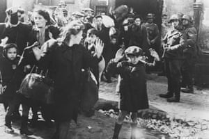 Great press photography: Jews being rounded up for the death camps, Warsaw