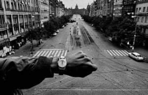 Press photography: Josef Koudelka's image of Russian tanks rolling into Prague in 1968