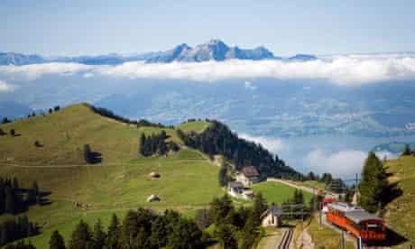 Swiss cities: Rigi Kulm