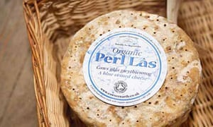 Perl Las, organic Cheese made by small family enterprise in Potseli, Boncath, Dyfed, Wales
