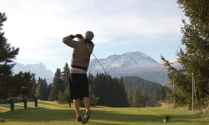The annual Golf Spektakle