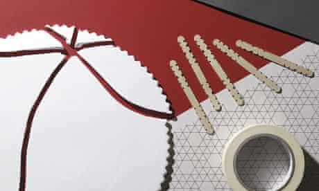 equipment for mending china