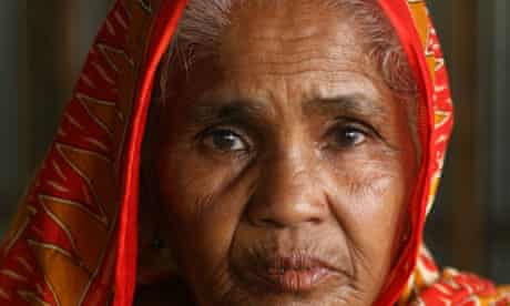 Hasna Banu had her sight restored at Orbis's Flying Eye hospital after years of blandness