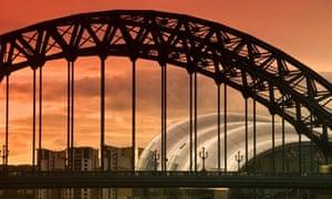 Newcastle and Gateshead, The Tyne Bridge and The Sage