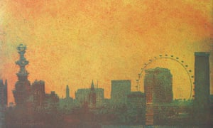 A painting called London Skyline by Karen Keogh