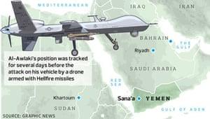 Al-Awlaki drone map