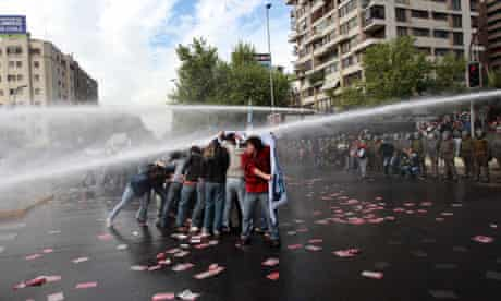 Chilean education protesters