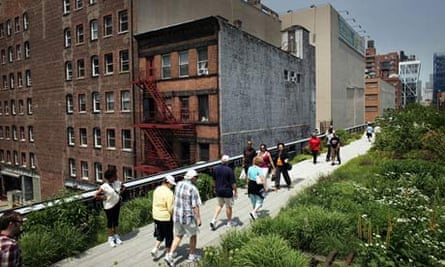 High Line park in New York's second section