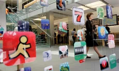 Apple Apps advertised in San Francisco