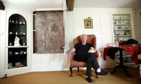 Patrick Wildgust, the live in curator at Shandy House
