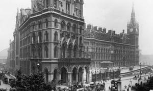 The Midland Grand Hotel London Circa 1905