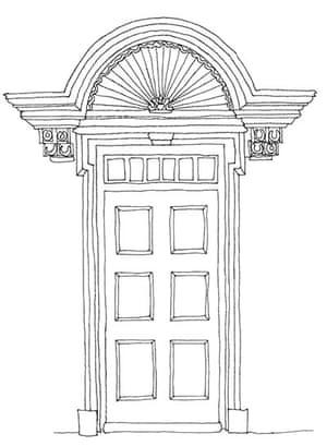 British architecture one: Door hood