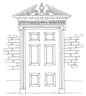 British architecture one: Broken pediment