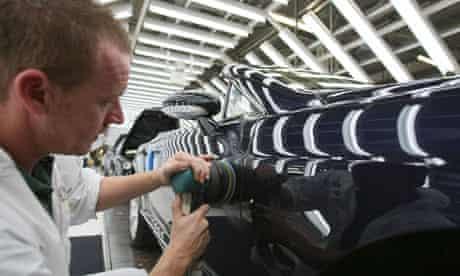 Bentley Motors factory worker