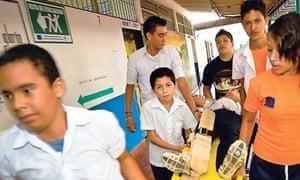 El Salvador disaster training