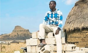 Sphesihle Njoko at his home in Isandlwana. He has won a place to study medicine in Cuba