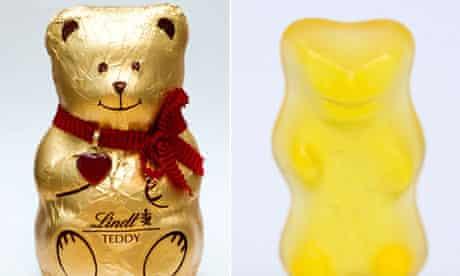 Lindt bear and Haribo bear