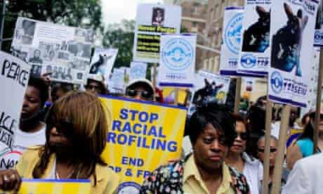 Stop and frisk march in New York