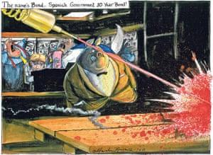 Martin Rowson cartoon, 09.06.2012 Photograph: Martin Rowson